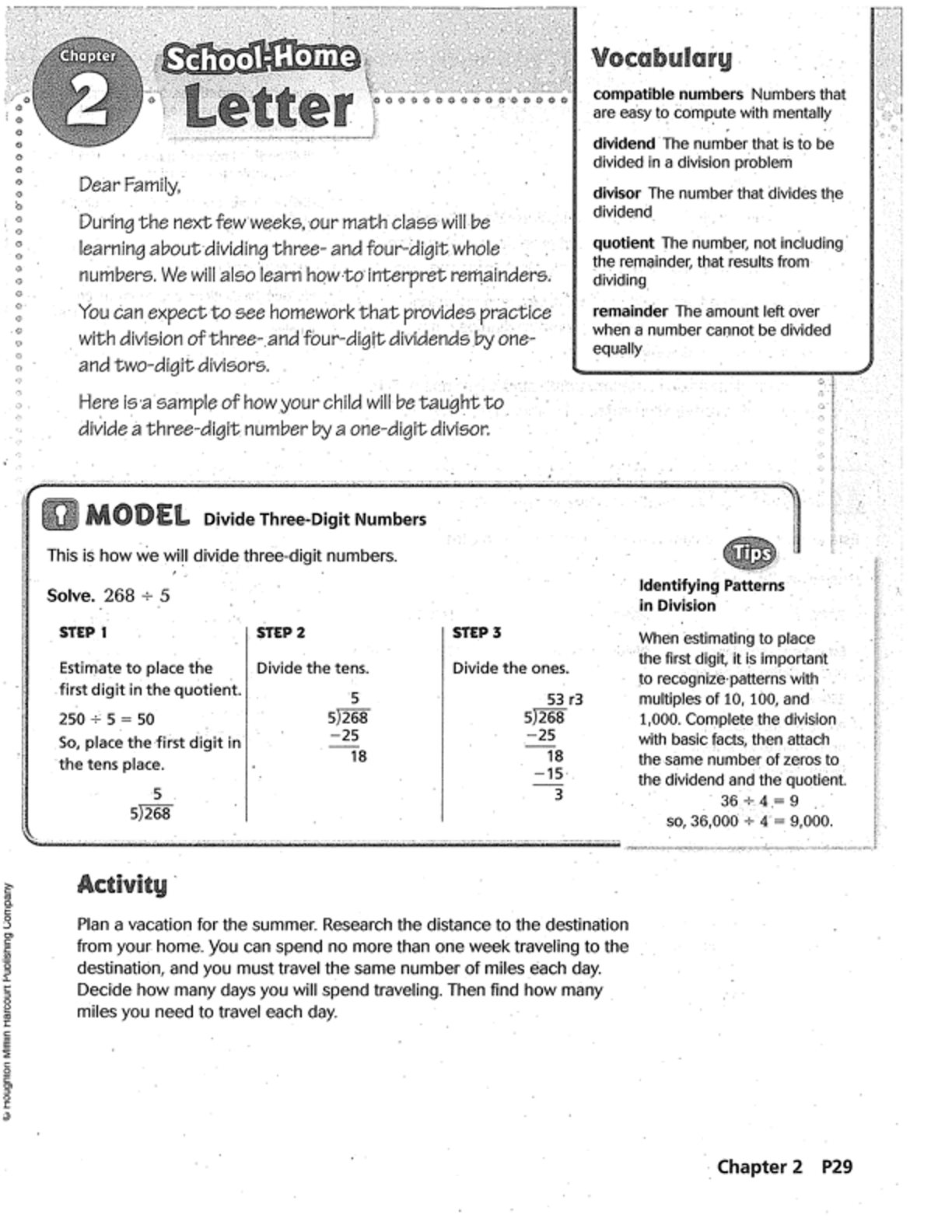 Go Math Chapter 2 Practice Book | Mr  Monteleone's 5th Grade